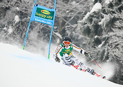 Julian Rauchfuss of Germany competes during 1st run of Men's GiantSlalom race of FIS Alpine Ski World Cup 57th Vitranc Cup 2018, on March 3, 2018 in Kranjska Gora, Slovenia. Photo by Ziga Zupan / Sportida