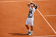 Sunday May 25th 2008. Roland Garros. Paris, France..Tennis French Open. 1st Round..Novak DJOKOVIC against Denis GREMELMAYR....