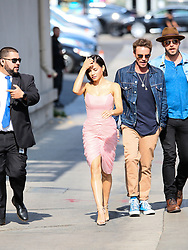 Johnny Knoxville is seen arriving at the 'Jimmy Kimmel Live' in Los Angeles, California. NON-EXCLUSIVE May 22, 2018. 22 May 2018 Pictured: Jenna Dewan. Photo credit: BG017/Bauergriffin.com / MEGA TheMegaAgency.com +1 888 505 6342