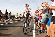 Michal Kwiatkowski (POL - Team Sky) , during the UCI World Tour, Tour of Spain (Vuelta) 2018, Stage 9, Talavera de la Reina - La Covatilla 200,8 km in Spain, on September 3rd, 2018 - Photo Luca Bettini / BettiniPhoto / ProSportsImages / DPPI