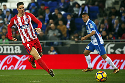 December 22, 2017 - Barcelona, Spain - Fernando Torres during the La Liga match between RCD Espanyol and Atletico de Madrid, in Barcelona, on December 22, 2017. Photo: Joan Valls/Urbanandsport/Nurphoto  (Credit Image: © Joan Valls/NurPhoto via ZUMA Press)