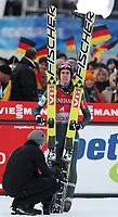 Hopp<br /> FIS World Cup<br /> Garmisch Partenkirchen Tyskland<br /> 01.01.2013<br /> Foto: Gepa/Digitalsport<br /> NORWAY ONLY<br /> <br /> FIS Weltcup der Herren, Vierschanzen-Tournee. Bild zeigt Anders Bardal (NOR).