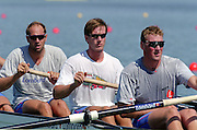 St Catherines, CANADA,  GBR M4- left to right. Steve REDGRAVE, Ed COODE and Matt PINSENT,  competing at the 1999 World Rowing Championships - Martindale Pond, Ontario. 08.1999..[Mandatory Credit; Peter Spurrier/Intersport-images]   ...St Catherines, CANADA,  GBR W2-, Bow Dot BLACKIE and Cath BISHOP,  competing at the 1999 World Rowing Championships - Martindale Pond, Ontario. 08.1999..[Mandatory Credit; Peter Spurrier/Intersport-images]   ... 1999 FISA. World Rowing Championships, St Catherines, CANADA