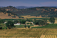 Guenoc and Langtree Estate Vineyards and Winery near Middletown, Lake County, California