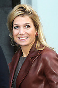 Opening Exibition Money and your Live with by princess MAXIMA at the visitorscentre of the Dutch Bank in Amsterdam.