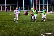 General pictures show the routines of the daily life of the sporty residents of Marea in the Aleppo Governorate on Monday, June 10, 2012. (Photo by Vudi Xhymshiti)