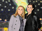 "Melissa Etheridge poses for a photo with her partner Linda Wallem, creator of Showtimes series Nurse Jackie at NMWA in front of one of Melissa favorite paintings by Hollis Sigler called ""To Kiss The Spirits"" at the National Museum of Women in the Arts in Washington DC. Sunday Nov. 4th. Grammy award winner Melissa Etheridge was presented with The Excellence in the Performing Arts award from the National Museum of Women in the Arts (NMWA). Etheridge  also performed on the piano and then an acoustic set on guitar for an intimate audience of about 400 people. Photo ©Suzi Altman/For NMWA Grammy award winner Melissa Etheridge is presented with the National Museum of Women in the Arts' (NMWA) Award for Excellence in the Performing Arts in Washington DC. Sunday Nov. 4, 2012. Etheridge also performed on the piano and then an acoustic set on guitar for an intimate audience of about 300 people. Photo ©Suzi Altman/For NMWA<br />