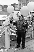 7th and H Street NW Washington DC, 1986