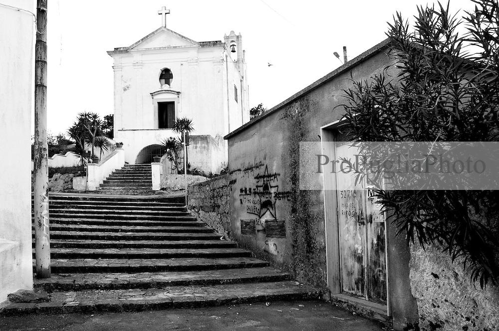 Alessano (LE) - Chiesa della Madonna del Buon Riposo.
