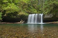 Upper Butte Creek Falls Cascade Range, Oregon