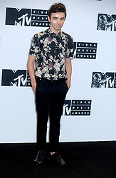 Nathan Sykes attending the press room at the MTV Video Music Awards at Madison Square Garden on August 28, 2016 in New York City, NY, USA. Photo by Dennis Van Tine/ABACAPRESS.COM  | 560641_015 New York City Etats-Unis United States