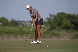 May 6, 2018 - The Colony, TX, U.S. - THE COLONY, TX - MAY 06: Cheyenne Woods (USA) putts on the 5th green during the Volunteers of America LPGA Texas Classic on May 6, 2018 at the Old American Golf Club in The Colony, TX. (Photo by George Walker/Icon Sportswire) (Credit Image: © George Walker/Icon SMI via ZUMA Press)