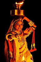 Rajasthani cultural performance , Pushkar Fair (camel fair), Pushkar, Rajasthan, India
