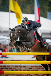 Djupvik Morten - Bessemeinds Quasimodo Z<br /> World Championship Young Horses Lanaken 2007<br /> Photo © Hippo Foto