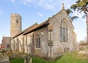 Church of Ilketshall St Andrew, Suffolk, England, UK