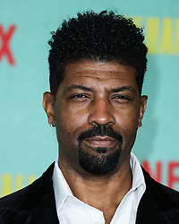 Comedian Deon Cole arrives at the Los Angeles Premiere Of Netflix's 'The Harder They Fall' held at the Shrine Auditorium and Expo Hall on October 13, 2021 in Los Angeles, California, United States. Photo by Xavier Collin/Image Press Agency/ABACAPRESS.COM