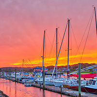 Cape Cod Bay sunset on fire fine art photography at the Wellfleet Marina and Harbor in Wellfleet, Massachusetts.<br /> <br /> Inspiring Cape Cod sunset photography pictures of Wellfleet Marina and Harbor are available as museum quality photography prints, canvas prints, acrylic prints, wood prints or metal prints. Fine art prints may be framed and matted to the individual liking and interior design decorating needs.<br /> <br /> Good light and happy photo making!<br /> <br /> My best,<br /> <br /> Juergen