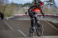 #435 (DONZALLAZ Eloise) SUI at the 2018 UCI BMX Superscross World Cup in Saint-Quentin-En-Yvelines, France.