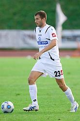 Dalibor Radujko of Koper at the football match Interblock vs NK Luka Koper in 12th Round of Prva liga 2009 - 2010,  on October 03, 2009, in ZSD Ljubljana, Ljubljana, Slovenia. Luka Koper won 1:0.  (Photo by Vid Ponikvar / Sportida)