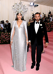 Gemma Chan and Tom Ford attending the Metropolitan Museum of Art Costume Institute Benefit Gala 2019 in New York, USA.