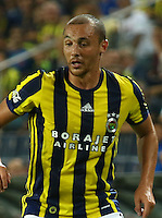UEFA Europa league Playoff first leg match between Fenerbahce and Grasshoppers at Ulker Stadium in Istanbul on August 18 , 2016.<br /> Final Score : Fenerbahce 3 - Grasshoppers 0<br /> Pictured:  Aatif Chahechouhe of Fenerbahce.