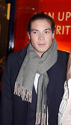 """IAIN RUSSELL at a party to celebrate the opening of the new Mont Blanc store at 151 Sloane Street, London on 9th March 2005.  The evening was held in conjunction with UNICEF's """"Sign up for the right to write"""" campaign which is raising money though the sale of celebraties 'statements' currently for auction on the ebay website.<br /><br />NON EXCLUSIVE - WORLD RIGHTS"""
