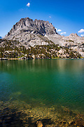Mount Robinson above Big Pine Lake #5, John Muir Wilderness, Sierra Nevada Mountains, California USA
