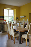 The kitchen at The Old Rectory, Chumleigh, Devon <br /> CREDIT: Vanessa Berberian for The Wall Street Journal<br /> LUXRENT-Nanassy/Chulmleigh
