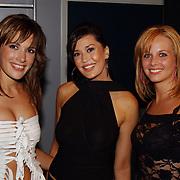 Playboy Night 2004, Miss univer en Miss Holland, Tessa Brix, Lindsay Pronk en Elise Boulonge