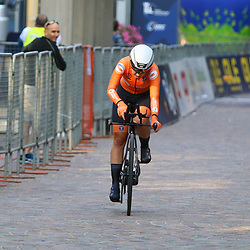 TRENTO (ITA): CYCLING: SEPTEMBER 9th: <br /> ITT Women U23<br /> Shirin van Anroooij