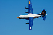 Blue Angels' Fat Albert flyby at the Oregon International Airshow.