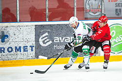 HOLSA Paavo during Alps League Ice Hockey match between HDD SIJ Jesenice and HK SZ Olimpija on January 2, 2021 in Ice Arena Podmezakla, Jesenice, Slovenia. Photo by Peter Podobnik / Sportida