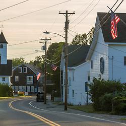 Downtown Friendship, Maine.