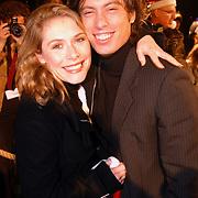 Premiere Polar Express, Ellen van Rijn en man Kaja Wolffers
