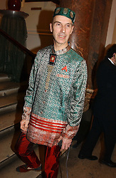 Designer ANDREW LOGAN at a reception to celebrate the opening of Turks:A Journey of a Thousand Years, 600-1600 - an exhibition of Turkish art held at the Royal Academy of Arts, Piccadilly, London on 18th February 2005.<br /><br />NON EXCLUSIVE - WORLD RIGHTS