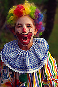 Boy, clown<br />