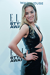 CHELSEA LEYLAND at the 17th Elle Style Awards 2014 in association with Warehouse held at One Embankment, 8 Victoria Embankment, London on 18th February 2014.