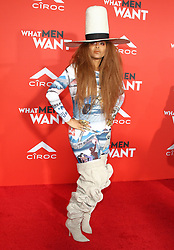 What Men Want Premiere at Regency Theater in Westwood, California on 1/28/19. 28 Jan 2019 Pictured: Erykah Badu. Photo credit: River / MEGA TheMegaAgency.com +1 888 505 6342