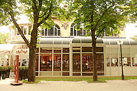 """Lenotre Ecole Culinaire, Paris,..short course - """"Return to the Market"""" with Chef Jacky Legras..exterior of Lenotre..photo by Owen Franken for the NY Times..July 12, 2007......."""