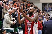 DESCRIZIONE : Campionato 2014/15 Serie A Beko Dinamo Banco di Sardegna Sassari - Giorgio Tesi Group Pistoia<br /> GIOCATORE : Tony Easley<br /> CATEGORIA : Post Game Postgame Fair Play Ritratto<br /> SQUADRA : Giorgio Tesi Group Pistoia<br /> EVENTO : LegaBasket Serie A Beko 2014/2015 <br /> GARA : Dinamo Banco di Sardegna Sassari - Giorgio Tesi Group Pistoia<br /> DATA : 01/02/2015 <br /> SPORT : Pallacanestro <br /> AUTORE : Agenzia Ciamillo-Castoria/C.Atzori <br /> Galleria : LegaBasket Serie A Beko 2014/2015