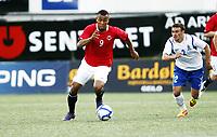 Fotball , 1. juni 2012 , Euro qual. U21 Norge - Azerbaijan 1-0<br /> Norway - Azerbaijan<br /> Joshua King , Norge<br /> Gara Garayev , Azerbaijan