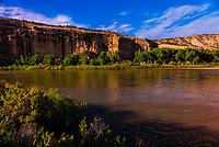 Green River passing through Dinosaur National Monument, Utah USA.