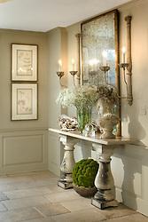 5165 Rockwood Parkway, NW Washington, DC Michele Seiver interior designer Hallway foyer entrance archway