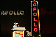 Dion Warwick at the Apollo Theater 75th Birthday Celebration Press Conference announcing its special anniversary programming across Harlem, New York, and the Nation.