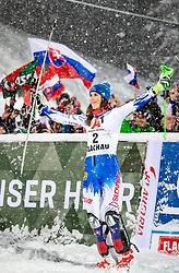 08.01.2019, Hermann Maier Weltcupstrecke, Flachau, AUT, FIS Weltcup Ski Alpin, Slalom, Damen, Siegerehrung, im Bild Petra Vlhova (SVK, 1. Platz) // race winner Petra Vlhova of Slovakia during the winner Ceremony for the ladie's Slalom of FIS Ski Alpine World Cup at the Hermann Maier Weltcupstrecke in Flachau, Austria on 2019/01/08. EXPA Pictures © 2019, PhotoCredit: EXPA/ Johann Groder