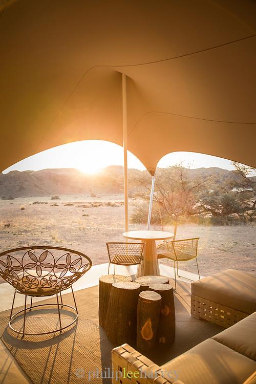 Interior Detail, Haonib Lodge, Skeleton Coast, hoanib river, Northern Namibia, Southern Africa