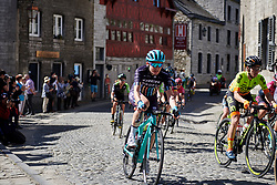 Kathrin Hammes (GER) at La Flèche Wallonne Femmes 2018, a 118.5 km road race starting and finishing in Huy on April 18, 2018. Photo by Sean Robinson/Velofocus.com
