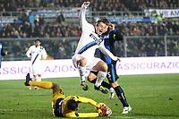 """Antonio Cassano Inter<br /> Bergamo 10/11/2012 Stadio """"Azzurri d'Italia""""<br /> Football Calcio Serie A 2012/13<br /> Atalanta v Inter<br /> Foto Insidefoto Paolo Nucci"""