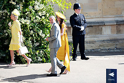 US actor George Clooney (C-L) and his wife, British human rights barrister Amal Clooney (C-R) arrive for the royal wedding ceremony of Britain's Prince Harry and Meghan Markle at St George's Chapel in Windsor Castle, in Windsor, Britain, 19 May 2018. Photo by Lauren Hurley/ABACAPRESS;COM
