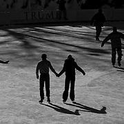 Ice skate Rink in Central Park